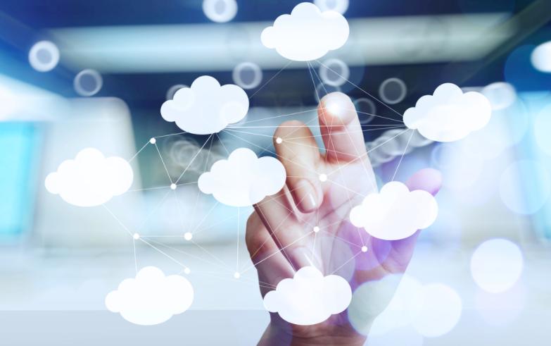 cloud web image as a concept of heroku vs aws