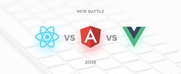 angular vs react logo