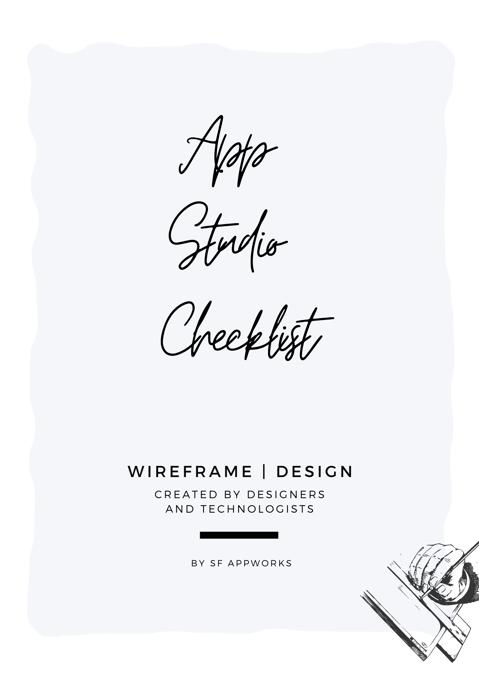 app studio checklist (10)