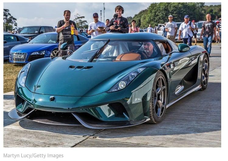 Carbon neutral hybrid supercar