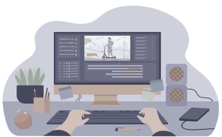 Computer monitor, as a concept of mLab vs Atlas