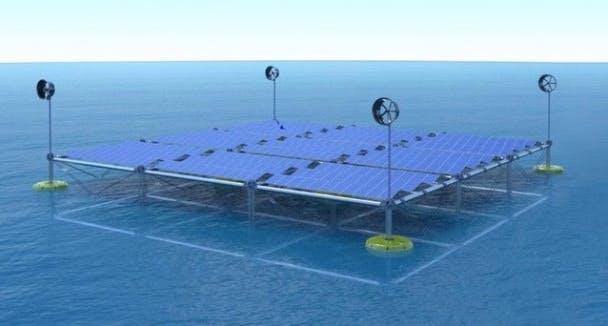 ocean platform using advanced technology