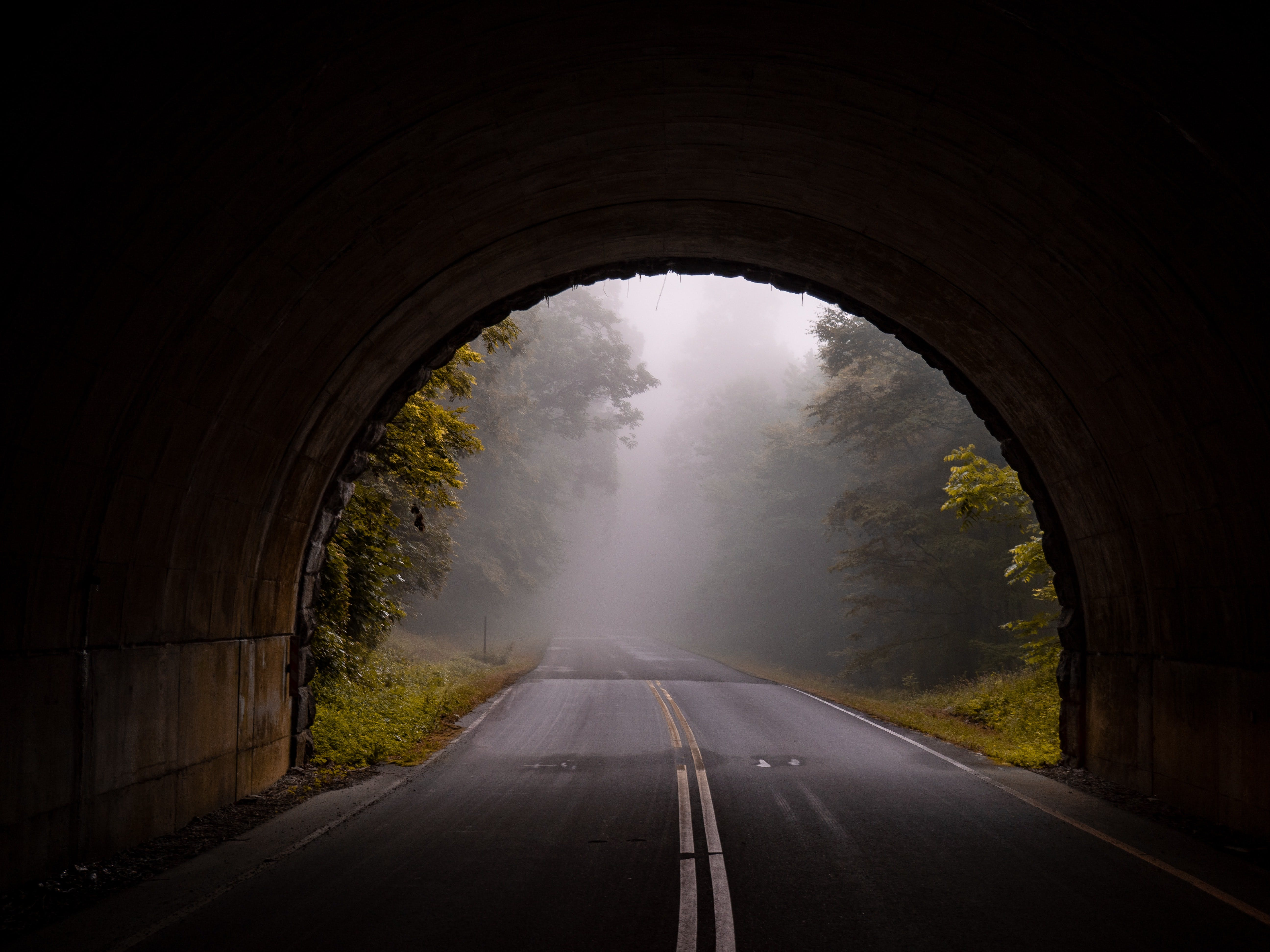 road and haze, as a concept of innovative thinking and innovation as a daily practice