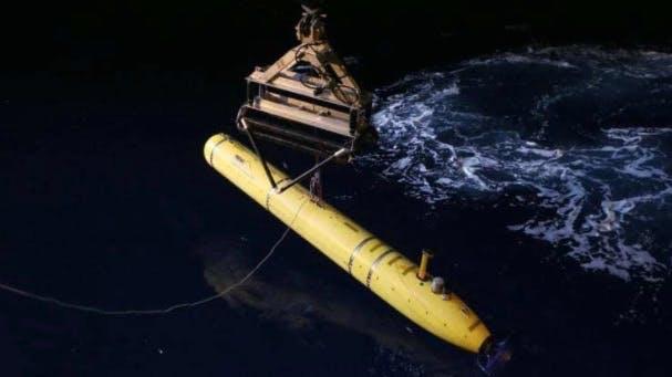 sea drone at night