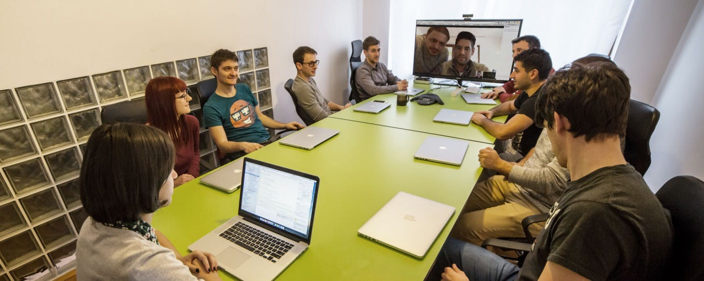 SF AppWorks team in the office