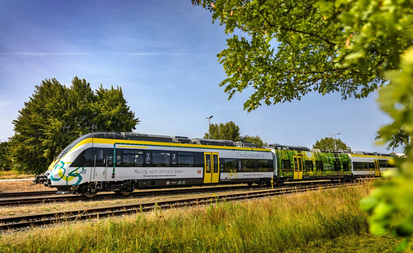 battery-powered trains to reduce diesel consumption